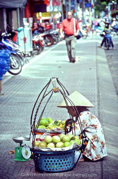 Хошимин, уличная торговля