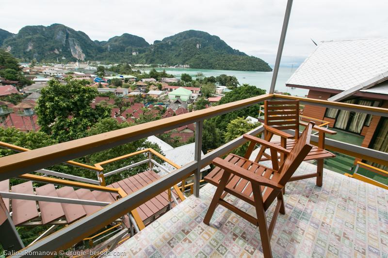 Отель на острове Пхи-Пхи Дон, Таиланд