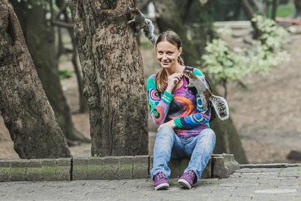 Нападение белок в парке Чапультепек, Мехико