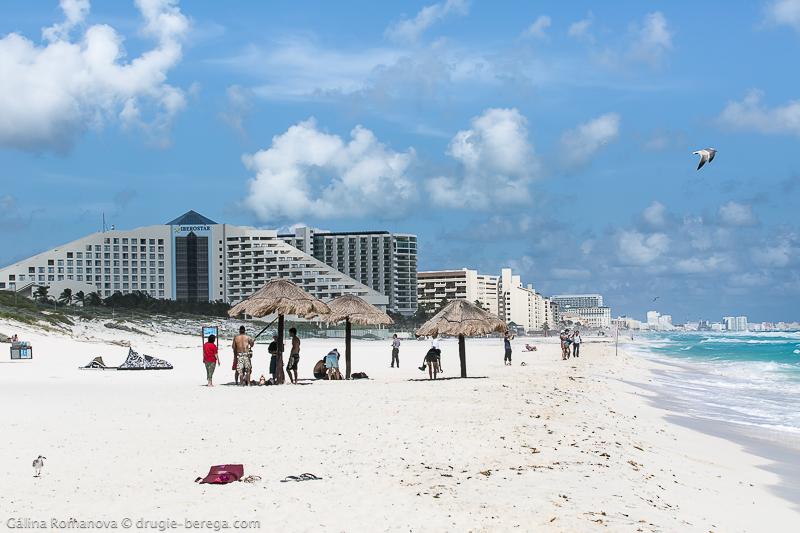 Playa Delfines Канкун, Мексика; Cancun Mexico