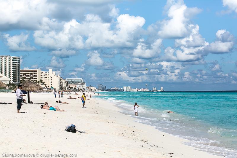 Канкун, Карибское море, Мексика; Cancun Mexico