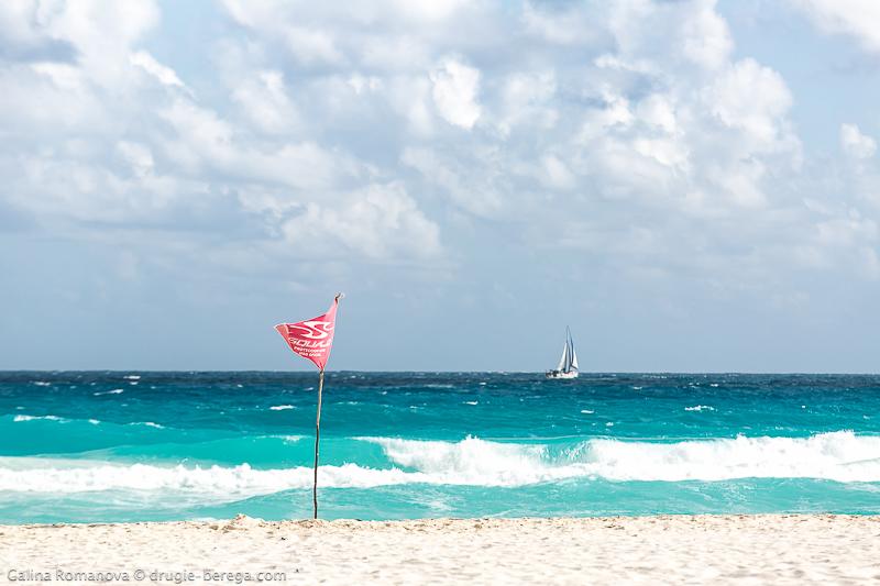 Белоснежные пляжи Канкуна, Мексика