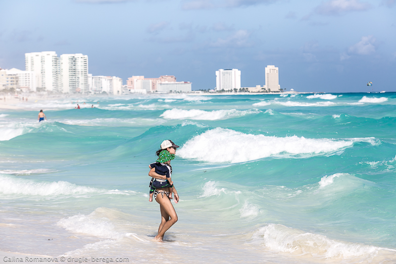 Playa Chac-Mool Канкун, Мексика; Cancun Mexico