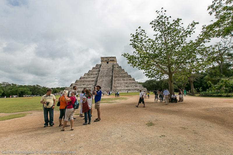 Чичен-Ица, Мексика; Chichen Itza Mexico