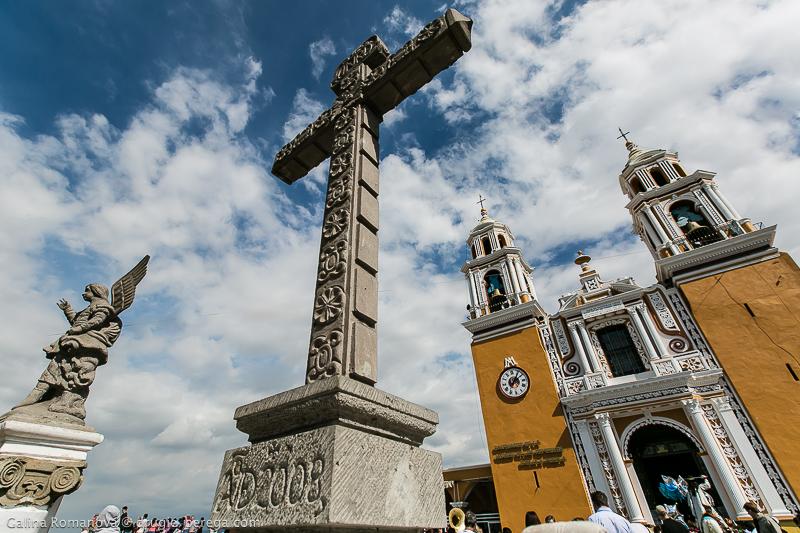 Церковь Пресвятой Девы Утешительницы (Santuario de Nuestra Senora de los Remedios), Чолула, Мексика