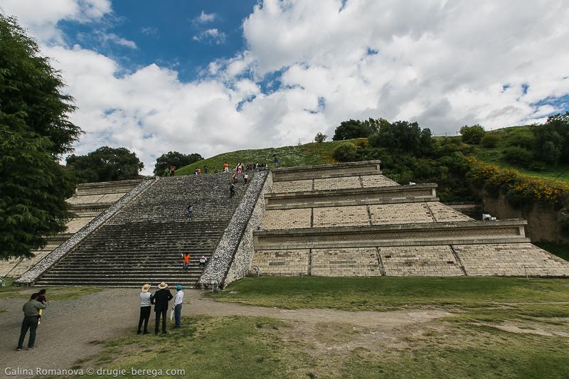 Самая большая пирамида в мире - Чолула Мексика, Cholula Mexico