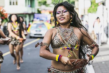 Три тысячи долларов за голого индейца, или сказ о том, как эквадорцы опять фестивалили
