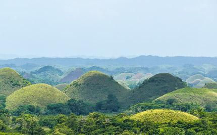 Филипины, остров Бохоль: шоколадные холмы и долгопяты