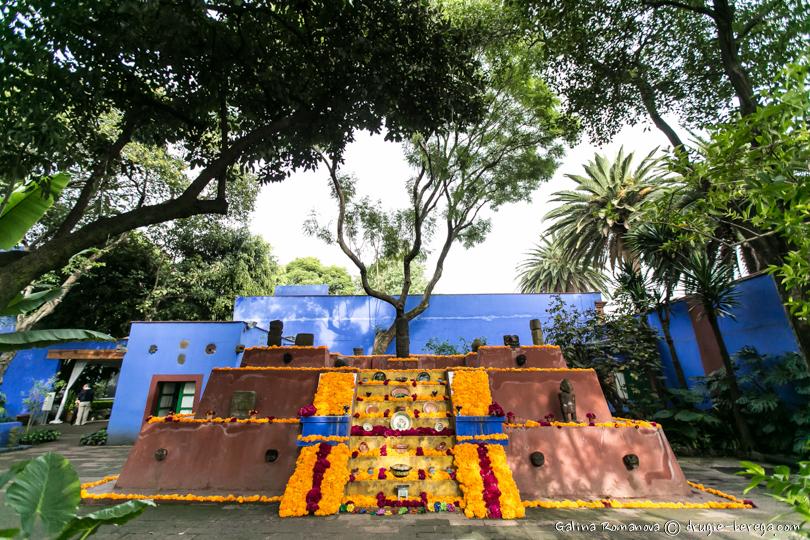 Дом-музей Фриды Кало в Мехико