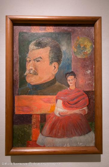 Фрида и Сталин. Фото картины.