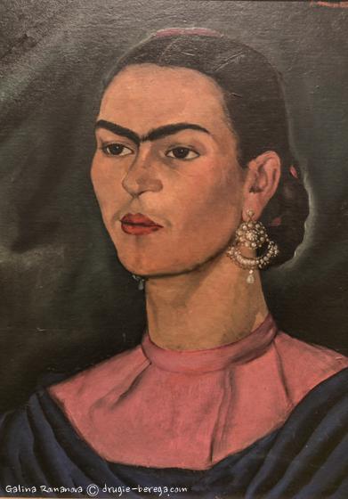 Фрида Кало, фотография автопортрета Фриды Кало