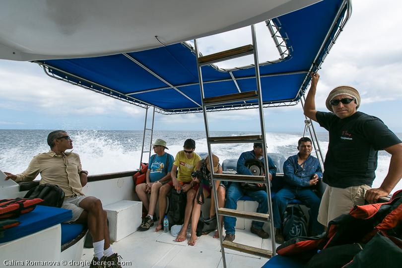Галапагосские острова, экскурсия на остров Флореана; Galapagos, tour to Floreana island