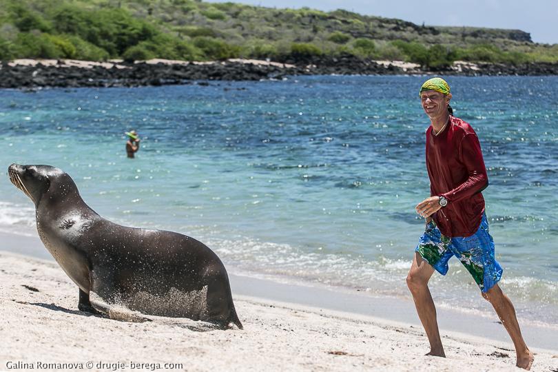 Галапагосские острова, остров Сан-Кристобаль; Galapagos, San Cristobal island