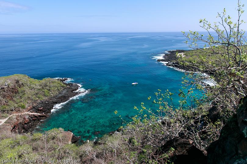 Лас Тихеретас, Галапагосские острова, остров Сан-Кристобаль; Las Tijeretas Galapagos, San Cristobal island