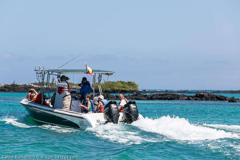 Экскурсия Los Tuneles на Галапагосских островах