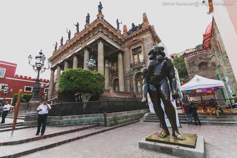 Театр Хуарес в Гуанахуато