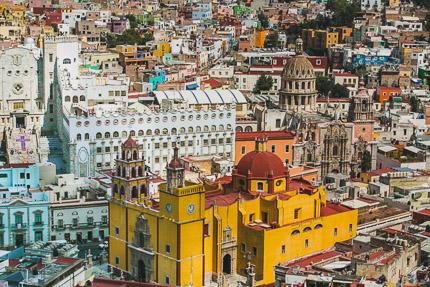 Гуанахуато — самый красивый город Мексики