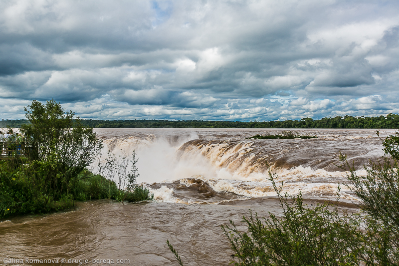 Водопад Игуасу, Аргентина; Iguazu Falls Argentina