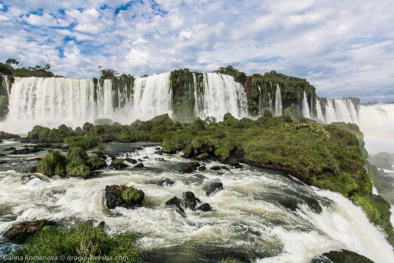Водопады Игуасу, Бразилия; Iguazu Falls, Brazil