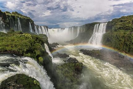 Радугой укрытый край. Водопады Игуасу, Бразилия