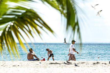 Мы закрыли глаза и далекий придумали остров. Исла Мухерес, Мексика