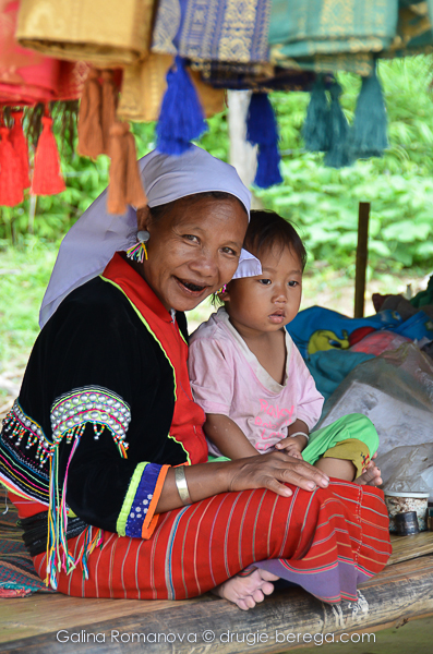 Племя Акха на севере Таиланда