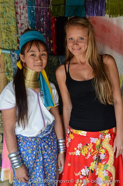 В гостях у племени длинношеих женщин