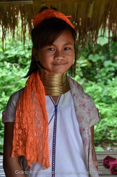 Девочка из племени Каренов