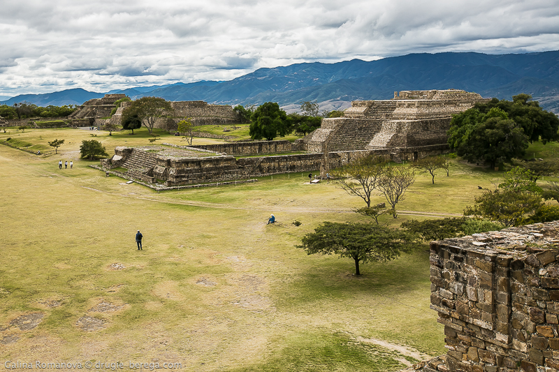 Пирамиды Монте-Альбан, Мексика; Monte Alban pyramids, Mexico