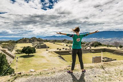 Пирамиды Монте-Альбан, Мексика