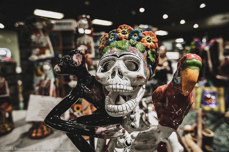 Национальный Музей Антропологии Мехико, сувенирная лавка