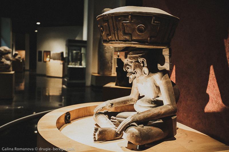 Национальный Музей Антропологии Мехико; National Museum of Anthropology