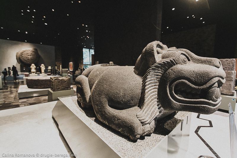 Оцелотль-куаушикалли, Национальный Музей Антропологии в Мехико