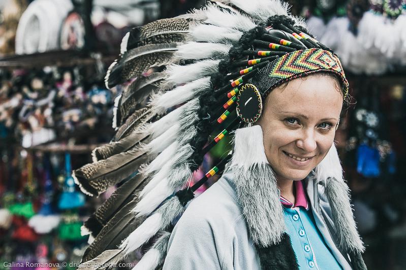 Пеначо - головной убор индейцев, изготовленный из перьев