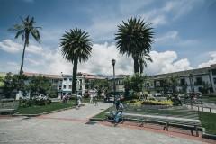 Главная площадь города Отавало