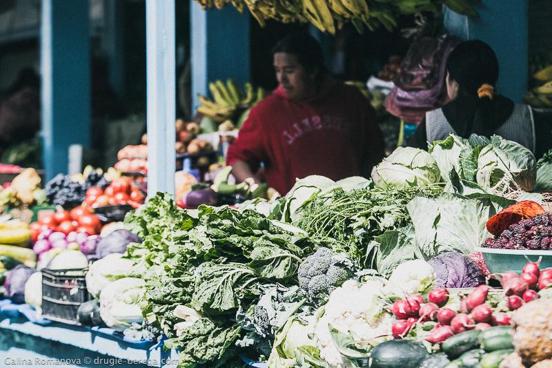 Рынок Отавало, Эквадор; Otavalo Ecuador
