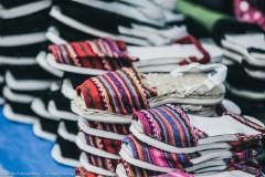 Обувь ручной работы - часть национального костюма женщин Отавало