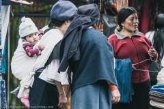 Бойкая торговля на рынке Отавало