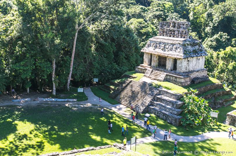 Храм Солнца (Templo del sol) Паленке, Мексика
