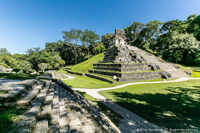 Пирамиды Пеленке, Мексика