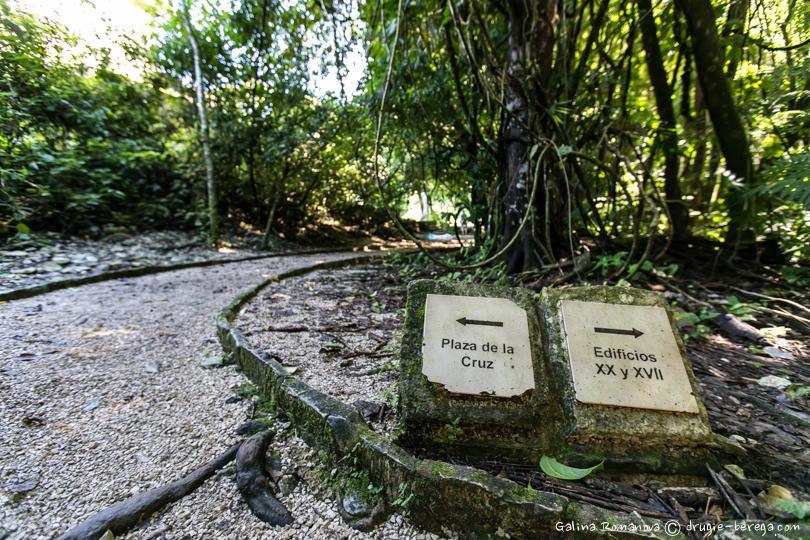 Археологический комплекс Паленке, Мексика