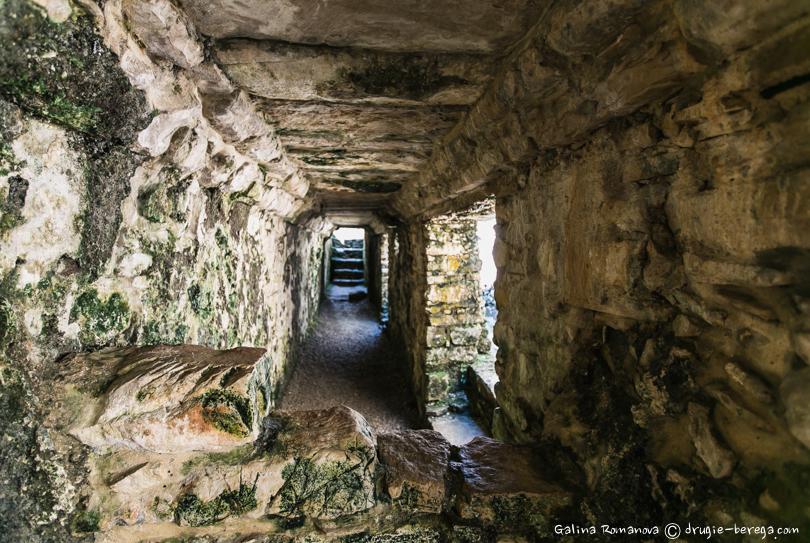 Внутренние помещения Дворца, Паленке, Мексика ( Palenque, Mexico)