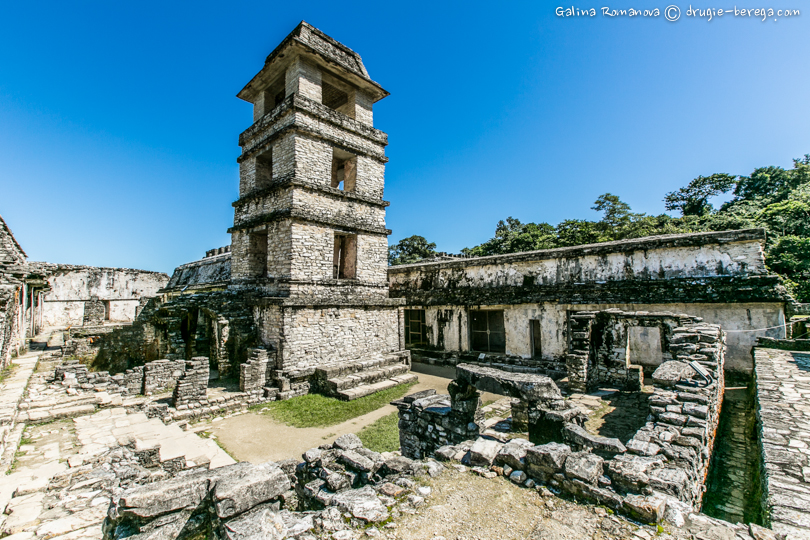 Дворец Паленке, Мексика ( Palenque, Mexico)