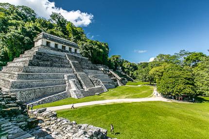 Паленке — древний город индейцев майя, Мексика. Видео!