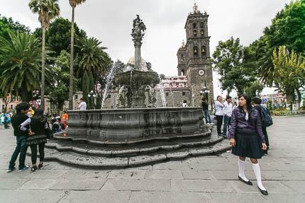 Пуэбла, Мексика. Скучать не обещаю!