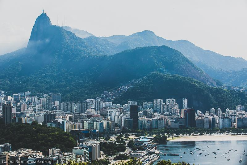 Вид со смоторовой площадки на горе Урка, Рио-де-Жанейро