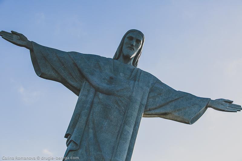 Статуя Христа-Искупителя, гора Корковадо, Рио-де-Жанейро