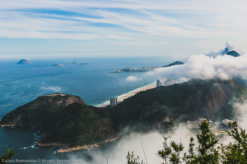 Вид на Рио-де-Жанейро с горы Урка, Рио-да-Жанейро