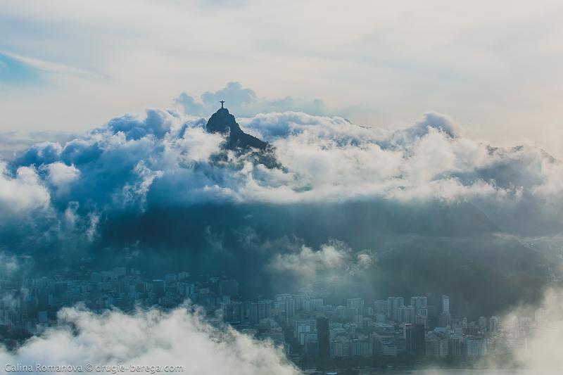 Вид на Рио-де-Жанейро с Сахарной головы