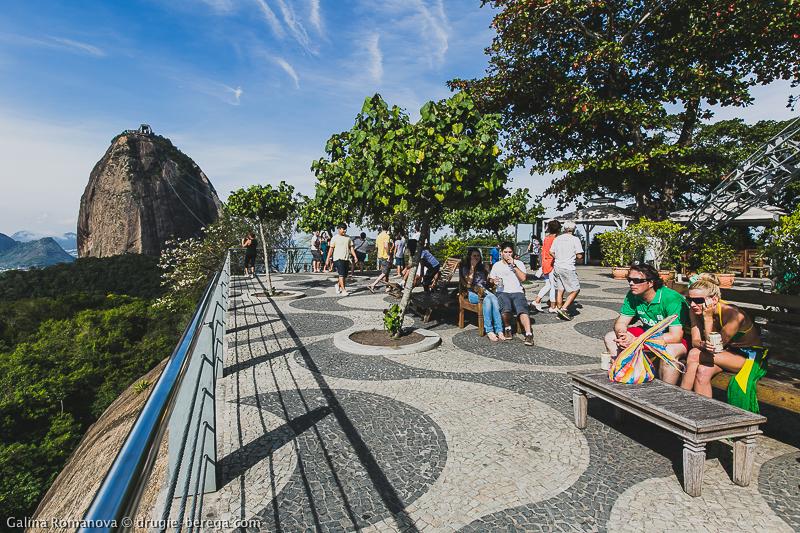 Рио-де-Жанейро, гора Урка и открывающийся с нее вид на Сахарную голову